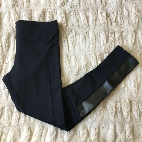 exclusive deals new cheap a great variety of models NWT Rune Glynn Faux Leather Moto Leggings NWT